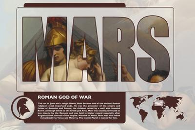 Marts Mythology Poster by Christopher Rice