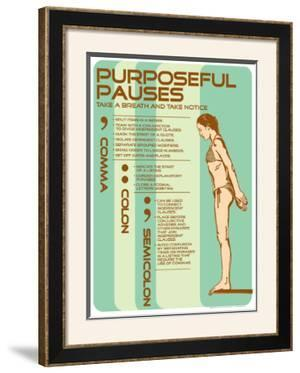 Punctuation: Purposeful Pauses by Christopher Rice