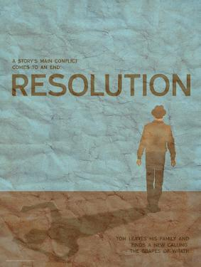 Resolution (Grapes Of Wrath) - Element of a Novel by Christopher Rice