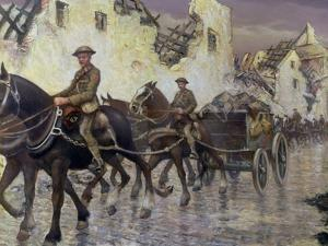 After the Recapture of Bapaume, 1918 by Christopher Richard Wynne Nevinson