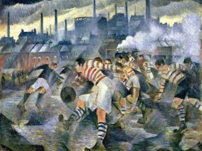 Any Wintry Afternoon in England, 1930 by Christopher Richard Wynne Nevinson