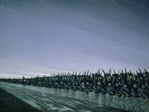 Column on the March by Christopher Richard Wynne Nevinson