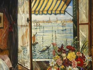 From a Venetian Window, 1934 by Christopher Richard Wynne Nevinson