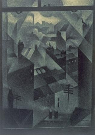 From an Office Window, 1918 by Christopher Richard Wynne Nevinson