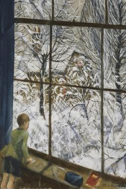 Looking at the Snow by Christopher Richard Wynne Nevinson