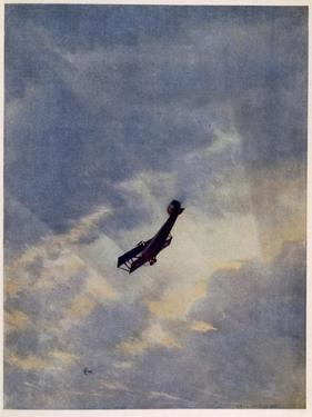 Swooping Down on a Hostile Plane by Christopher Richard Wynne Nevinson
