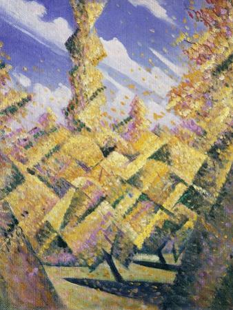 The Four Seasons: Autumn, C.1919 by Christopher Richard Wynne Nevinson