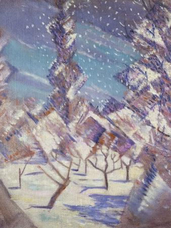 The Four Seasons: Winter, C.1919 by Christopher Richard Wynne Nevinson