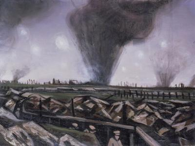 The Strafing, C.1914 by Christopher Richard Wynne Nevinson