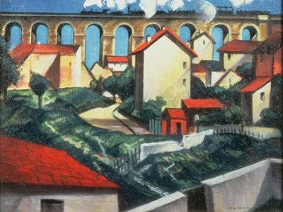 The Viaduct by Christopher Richard Wynne Nevinson