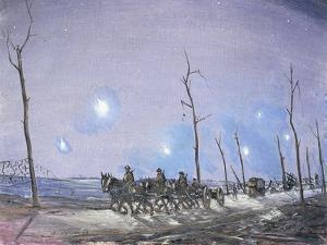 Verey Lights, 1918 by Christopher Richard Wynne Nevinson