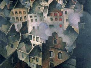 Ypres after First Bombardment by Christopher Richard Wynne Nevinson