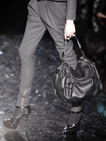 A Model Displays a Creation of Gucci Fall/Winter 2009-2010 Ready-to-wear Collection