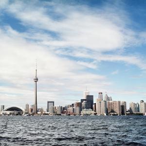 Skyline of Toronto, Ontario, Canada with Lake Ontario by Christopher Stevenson
