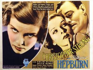 Christopher Strong, Katharine Hepburn, Colin Clive, 1933