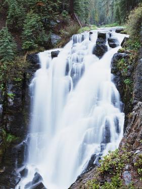 California, Lassen Volcanic National Park, Kings Creek Falls by Christopher Talbot Frank