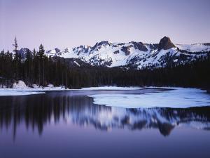 California, Sierra Nevada, Inyo, Mammoth Lakes, Lake Mamie Landscape by Christopher Talbot Frank