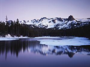 California, Sierra Nevada, Inyo, Mammoth Lakes, Lake Mamie Landscape by Christopher Talbot Frank