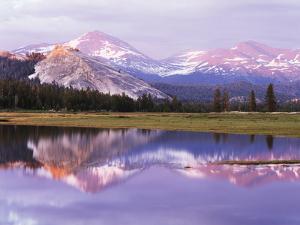 California, Sierra Nevada, Yosemite National Park, Lembert Dome on Tuolumne River by Christopher Talbot Frank