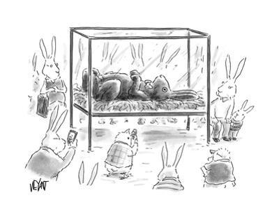 Chocolate Easter Bunny - Cartoon by Christopher Weyant