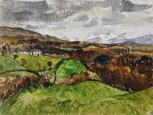 Cumberland Landscape, 1928 by Christopher Wood