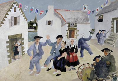 Dancing Sailors, Brittany, France
