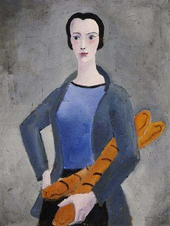 Girl with Bread, 1926