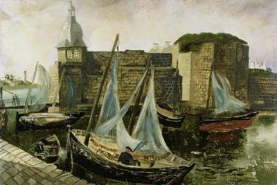 La Ville-Close, Concarneau, Brittany, 1930