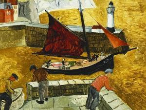 Mousehole, Cornwall, 1928 by Christopher Wood