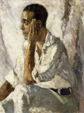 Portrait of J.A. Gandarillas, 1922 by Christopher Wood