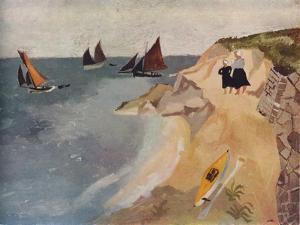 Seascape, Treboul, C1929, (1938) by Christopher Wood
