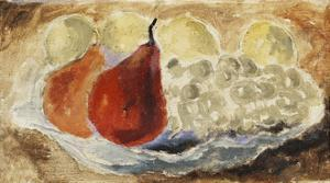 Shell, Dish and Fruit by Christopher Wood