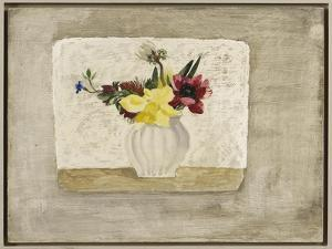 Spring Flowers in a White Jar, c.1928 by Christopher Wood