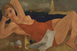 The Bather by Christopher Wood