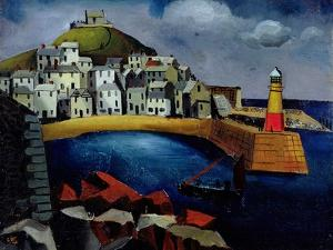 The Harbour, 1926 by Christopher Wood