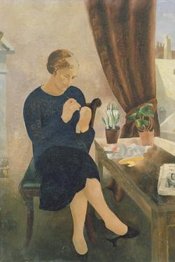 The Manicure, 1933 by Christopher Wood