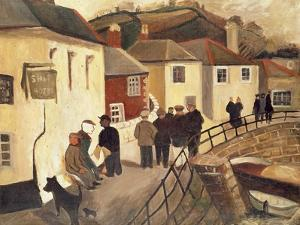 The Ship Hotel, Mousehole, Cornwall, 1928/9 by Christopher Wood