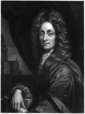 Christopher Wren, English Architect, Mathematician and Physicist, 1833