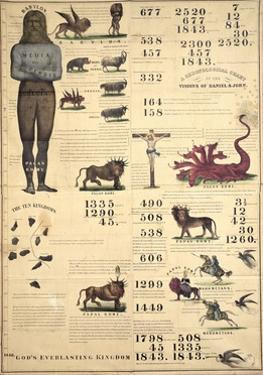 Chronological Chart of the Visions of Daniel and John, 1843