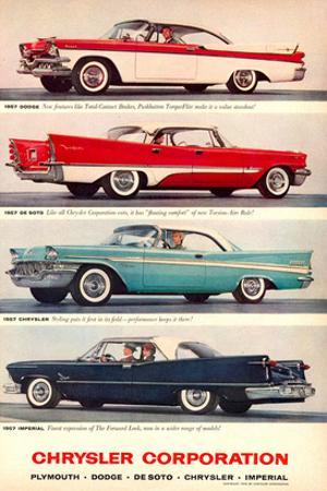 Chrysler 1957 Models
