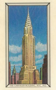 Chrysler Building, 1932, New York City