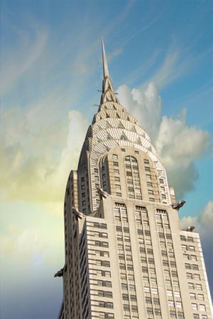 Chrysler Building Façade Spike