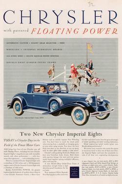 Chrysler Floating Power - 1925