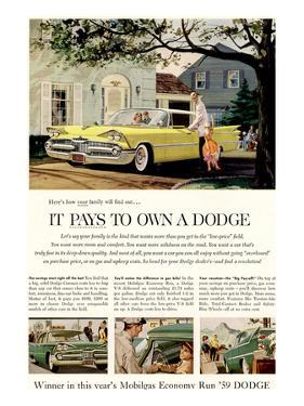 Chrysler It Pays to Own Dodge