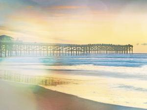 California Cool - Jetty in Focus by Chuck Brody