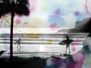 So Cal - Sandy Walks by Chuck Brody