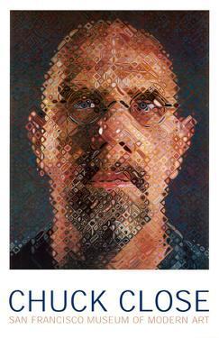 Self-Portrait, 2000-2001 by Chuck Close