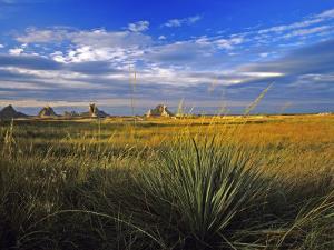 Badlands National Park, South Dakota, USA by Chuck Haney