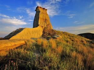 Badlands of Theodore Roosevelt National Park, North Dakota, USA by Chuck Haney