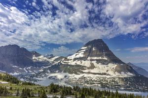 Bearhat Mountain and Hidden Lake in Glacier National Park, Montana, USA by Chuck Haney